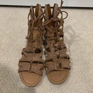 Crown Vintage Wedge Gladiator Sandals